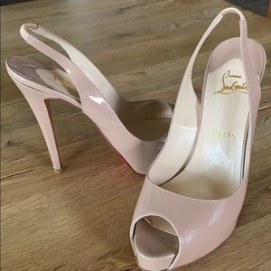 CHRISTIAN LOUBOUTIN N°prive 120 Patent Leather